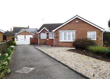 Thumbnail 3 bed detached bungalow for sale in Hodgson Way, Sutton On Sea, Lincs.