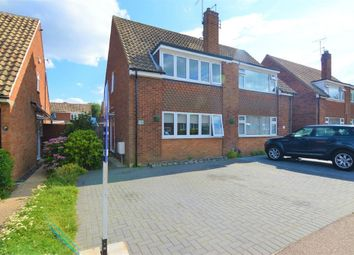 Thumbnail 3 bedroom semi-detached house for sale in Ousden Drive, Cheshunt, Hertfordshire