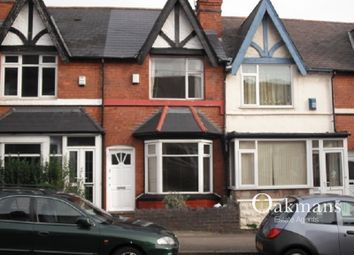 Thumbnail 3 bedroom terraced house for sale in Harborne Park Road, Birmingham, West Midlands.