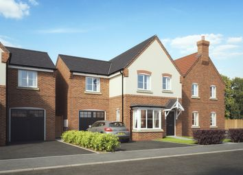 Thumbnail 4 bed detached house for sale in Newfield Rise, New Street, Measham