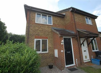 Thumbnail 1 bed semi-detached house to rent in Middlesborough Close, Great Ashby, Stevenage, Hertfordshire