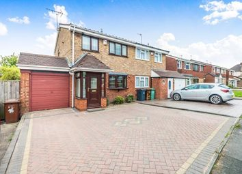 Thumbnail 3 bed semi-detached house for sale in Overdale Drive, Briarsleigh Estate, Walsall, West Midlands