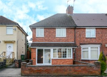 Thumbnail 3 bed end terrace house for sale in Alexander Road, Bearwood, West Midlands