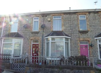 Thumbnail 2 bed terraced house for sale in Sunnyside Road, Bridgend, Bridgend County.