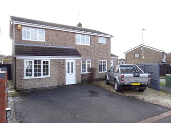 Thumbnail 4 bed detached house for sale in Romans Crescent, Whitwick, Leicestershire