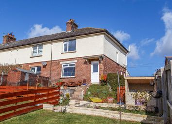 Thumbnail 2 bed end terrace house for sale in New Estate, Newton St. Cyres, Exeter