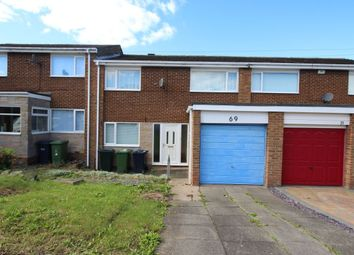 Thumbnail 3 bed terraced house for sale in Horsley Avenue, Crawcrook, Ryton