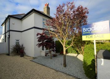 Thumbnail 3 bed semi-detached house for sale in Merafield Road, Plymouth, Devon