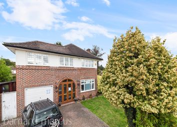 Thumbnail 4 bed detached house for sale in Grasmere Avenue, London