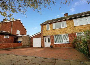 Thumbnail 3 bed semi-detached house for sale in Aldercroft Close, Ipswich