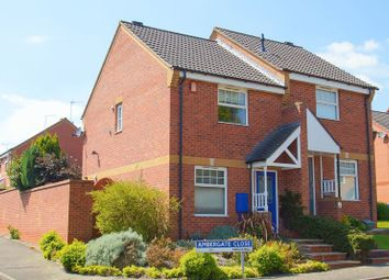 Thumbnail 2 bedroom semi-detached house for sale in Ambergate Close, Brockhill, Redditch