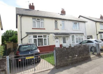 Thumbnail 3 bedroom semi-detached house for sale in Illtyd Road, Cardiff