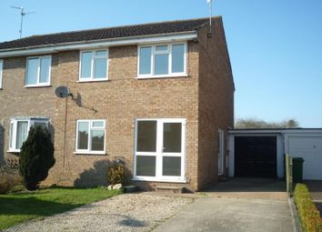 Thumbnail 3 bed semi-detached house to rent in Bradfield Avenue, Buckingham
