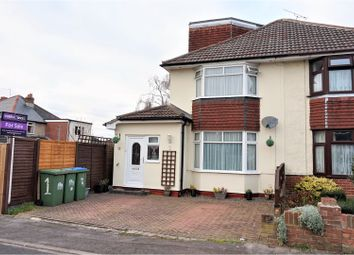 Thumbnail 3 bed semi-detached house for sale in Sedgewick Road, Southampton
