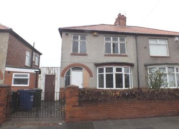 Thumbnail 3 bed semi-detached house for sale in Hadrian Road, Fenham, Newcastle Upon Tyne