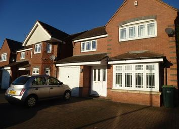 Thumbnail 4 bedroom detached house to rent in Aster Way, Walsall