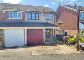 Thumbnail 3 bed semi-detached house for sale in Harness Close, Walsall, West Midlands