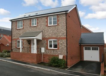 Thumbnail 3 bed detached house for sale in Higher Meadow, Cranbrook, Exeter