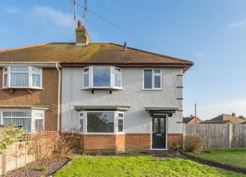 Thumbnail 3 bed semi-detached house for sale in Stone Lane, Worthing