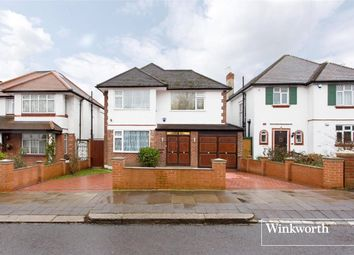 Thumbnail 3 bed detached house for sale in Greenway, Totteridge, London