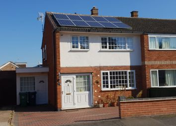 Thumbnail 3 bed semi-detached house to rent in Blenheim Road, Birstall