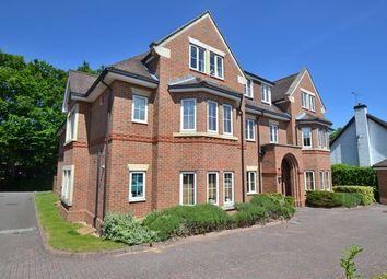 Thumbnail 2 bedroom flat to rent in Yew Barton Court, Aldershot Road, Church Crookham, Fleet