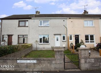 Thumbnail 2 bed terraced house for sale in Christie Place, Elgin, Moray