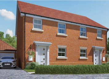 3 bed semi-detached house for sale in London Road, Attleborough, Norfolk NR17