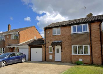 Thumbnail 3 bed semi-detached house for sale in Statham Place, Oldbrook, Milton Keynes