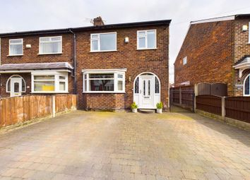 Thumbnail 3 bed semi-detached house for sale in The Crescent, Flixton, Trafford