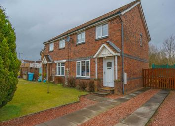 Thumbnail 3 bed semi-detached house for sale in Eildon Crescent, Chapelhall, Airdrie
