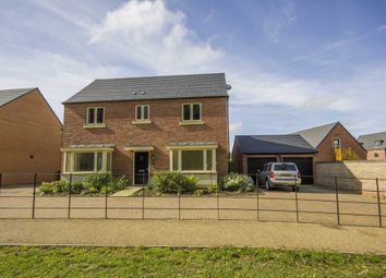 Thumbnail 4 bedroom detached house for sale in Scott Close, Northampton
