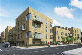 Thumbnail 2 bed flat for sale in Benhill Road, Camberwell, London