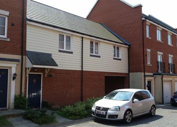 Thumbnail 2 bed flat to rent in Braeburn Close, Ipswich