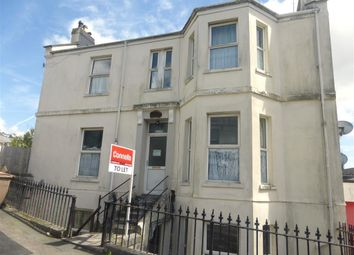 Thumbnail 1 bed flat to rent in Meadfoot Terrace, Plymouth