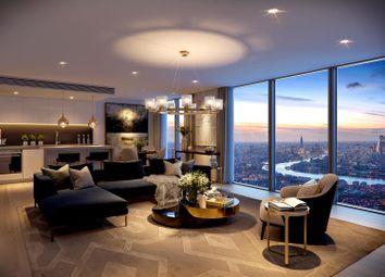 Thumbnail 1 bed flat for sale in Landmark Pinnacle, Canary Wharf