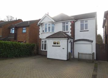 Thumbnail 4 bed detached house for sale in Coventry Road, Hinckley