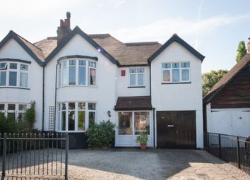 Thumbnail 4 bed semi-detached house for sale in Cremorne Road, Four Oaks, Sutton Coldfield