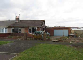 Thumbnail 2 bed semi-detached bungalow for sale in Silverdale Avenue, Wardley, Gateshead