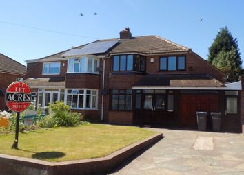 Thumbnail 4 bed semi-detached house to rent in Cartwright Road, Sutton Coldfield