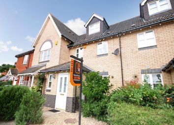 Thumbnail 3 bed town house to rent in Martinet Green, Ipswich, Suffolk