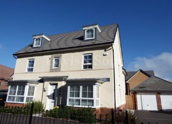 Thumbnail 5 bed detached house for sale in Jubilee Park, Newport, Gwent.
