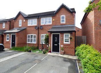Thumbnail 3 bed semi-detached house for sale in Wildflower Close, Stockport