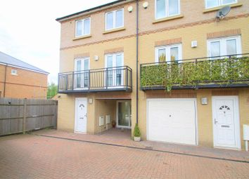 Thumbnail 3 bed town house for sale in Marston Court, Greenhithe