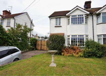 Thumbnail 3 bed semi-detached house for sale in Caerphilly Road, Newport