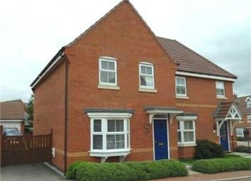 Thumbnail 3 bed semi-detached house to rent in Mill Furlong, Coton Meadows, Rugby, Warwickshire