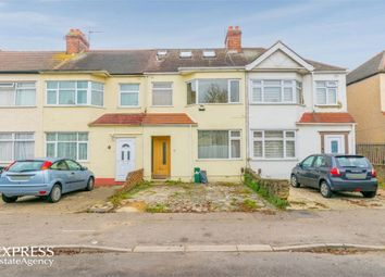 Thumbnail 4 bed terraced house for sale in Newbury Avenue, Enfield, Greater London