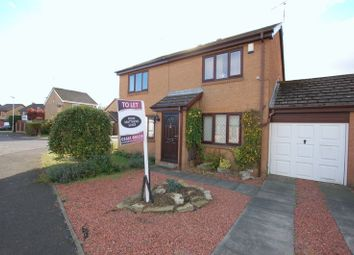 Thumbnail 2 bed semi-detached house to rent in Eland Edge, Ponteland, Newcastle Upon Tyne