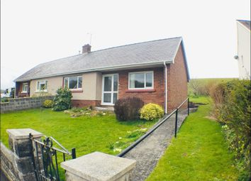 Thumbnail 2 bed semi-detached bungalow to rent in Parc Yr Hydd, Ciliau Aeron