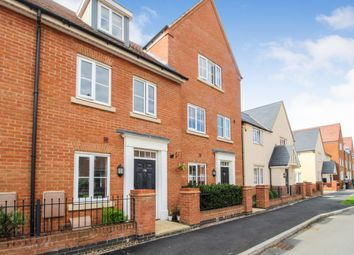 Thumbnail 4 bed town house for sale in Gold Furlong, Marston Moretaine, Bedford